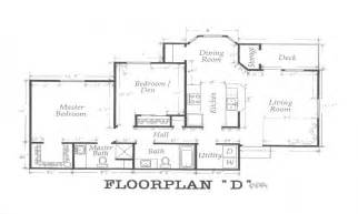Residential Floor Plans with Dimensions