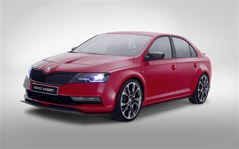 Skoda Rapid Sport Concept 2018 Widescreen Exotic Car