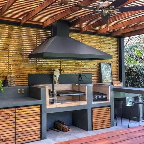 26+ Fanciable Outdoor Kitchen Veranda