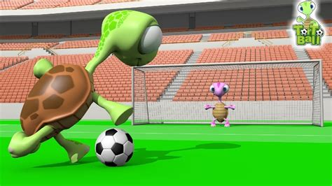 penalty shootout soccer funny turtles  children