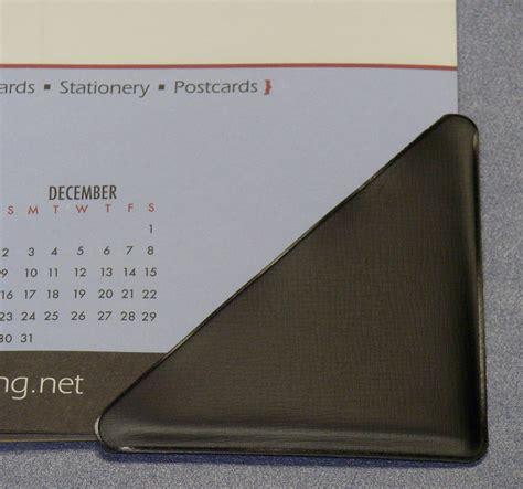 large desk calendar holder desk calendar front cornerholder serving distributors
