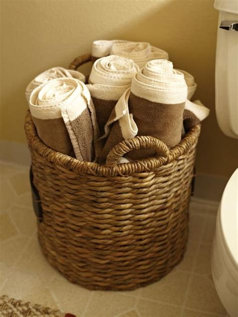 comfy ideas  store towels   bathroom shelterness