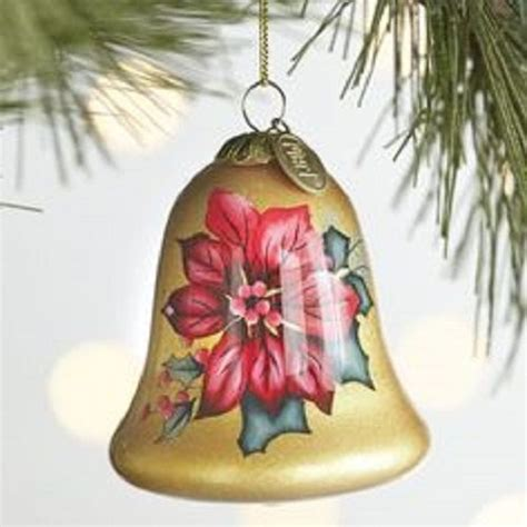 poinsettia bell ornament traditions 68 best christmas ornaments images on pinterest christmas deco diy christmas decorations and