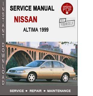 free auto repair manuals 1996 nissan altima regenerative braking nissan altima 1999 service repair manual download