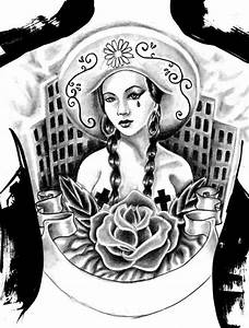 Tattoo drawings, Gangster girl and Love art on Pinterest
