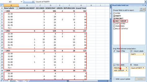 excel pivot table tutorial sle productivity portfolio