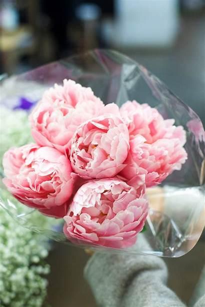 Florist Pink Peonies Finding Wednesday Flowers Bonjour