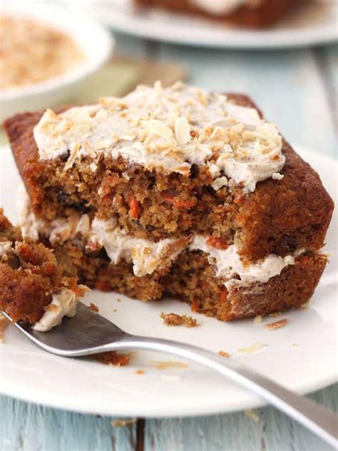 bake  toaster oven carrot cake