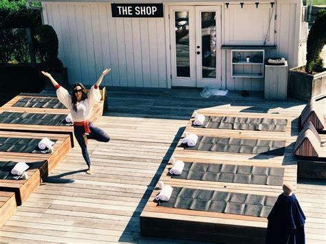 Byoga Poolside Yoga Class