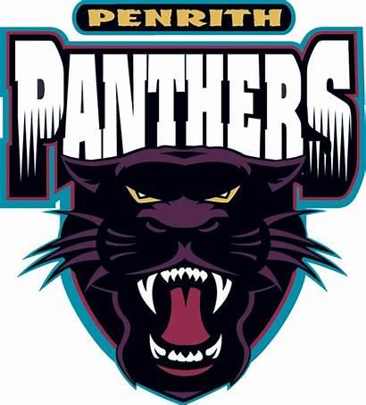 Panthers Penrith Team Logos Sports Purple Names