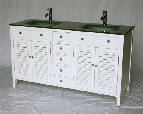 Cottage Style Vanities For Bathrooms by 60 Inch Cottage Style Sink Bathroom Vanity Model