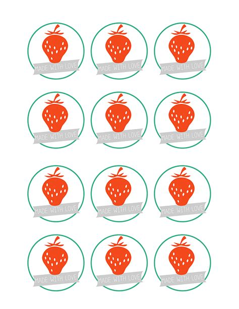 june 9 free printable jam labels mommycoddle