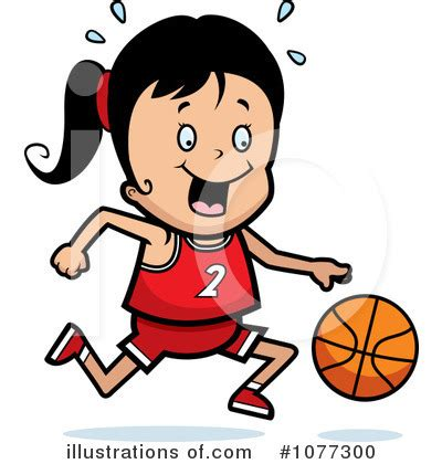 Girls Basketball Clip Art Free
