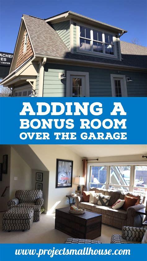 adding  bonus room   garage project small house bonus room guest house plans room