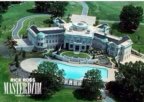 Rick Ross S House by Rick Ross Mansion Homes Cars Planes Toys