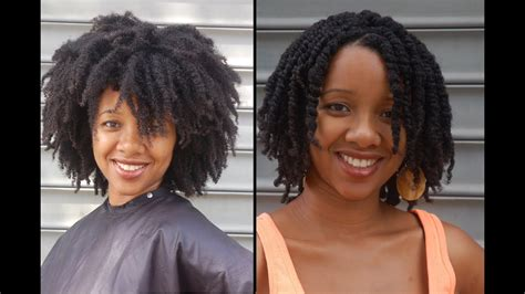 How to make Twists in 4C Hair and all other natural hair