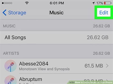 how to delete songs iphone 2 easy ways to delete music on your iphone wikihow How T