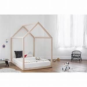Lit Maison Enfant : lit bebe maison ~ Farleysfitness.com Idées de Décoration