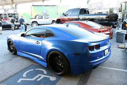 Matte Camaro Chevy Widebody Cars Modified Parts