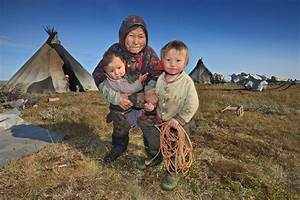 The Chum Shelters of the Nenet People of Siberia in ...