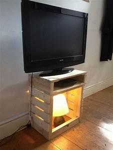 Table Tv But : pallet tv stand a delight to watch pallet furniture plans ~ Teatrodelosmanantiales.com Idées de Décoration