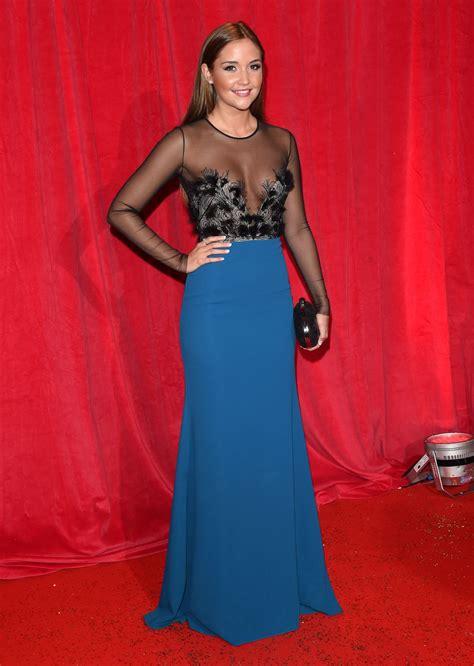 JACQUELINE JOSSA at British Soap Awards 2014 in London ...