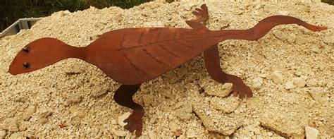 Garten Deko Gecko gartendeko shop rostdeko quot gecko quot eidechse reptil