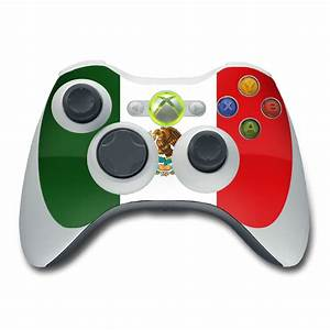 Xbox 360 Controller Skin Mexican Flag By Flags DecalGirl
