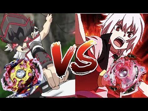 Beyblade Evolution Shu vs Red Eye Burst
