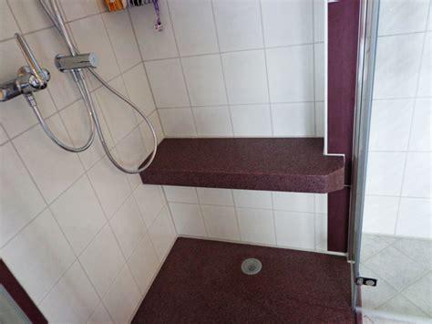 dusche mit sitzbank duschtassen 171 marlan schweiz w umiker
