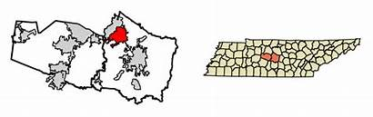 Williamson County Tennessee Svg Areas Smyrna Highlighted