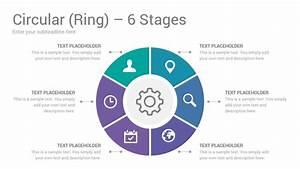 Circular Ring Diagrams Powerpoint Template Designs
