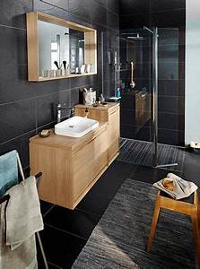 les 25 meilleures idees de la categorie salle de bain zen With salle de bain gris bois
