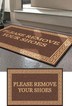 No Shoes Doormat by 1000 Ideas About Remove Shoes Sign On Shoes