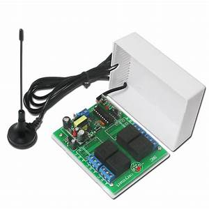 Remote Control 3 Receivers With External Extend Antenna By Wireless 12 Ch Transmitter  U2013 Remote