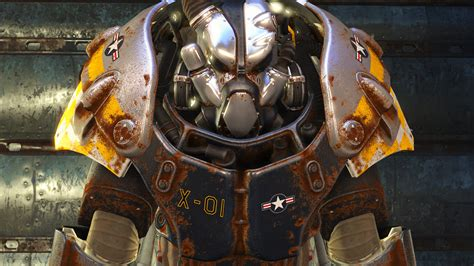 armor power x01 fallout mods paints ww2 xo1 standalone airplane wallpapers mod background gamewatcher fallout4 institute screenshot