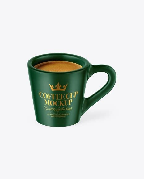 Create interesting presentations with our free mockup. Matte Coffee Cup Packaging Mockups