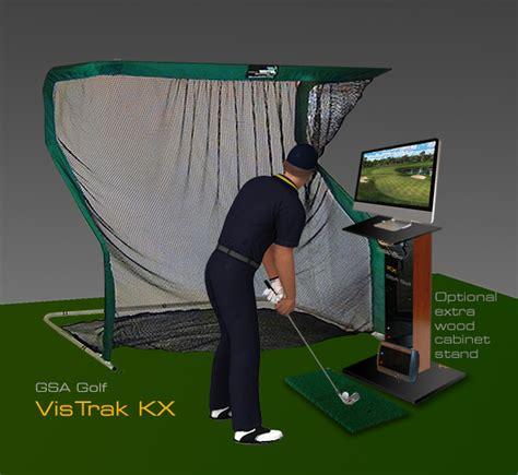 gsa advanced golf simulators kx console