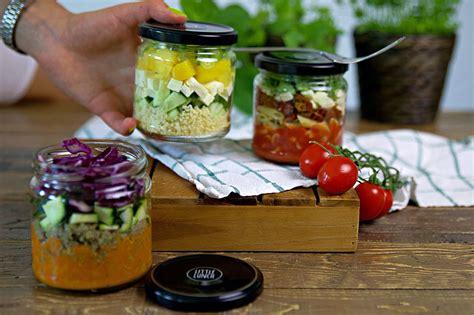 rezept salate im glas    lunch