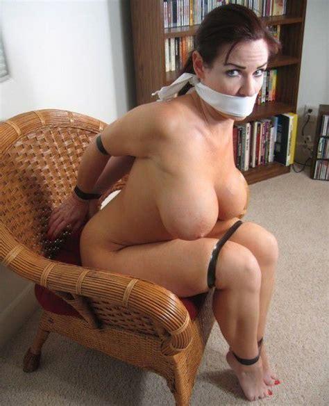 amazing bondage photo with a sexy big tits