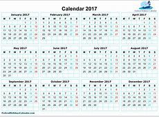 Gregorian calendar 2017 Printable 2018 calendar Free