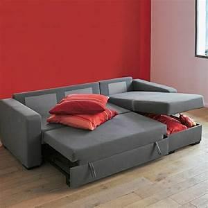 Canape Design Et Confortable : canap convertible design avec coffre de rangement ~ Teatrodelosmanantiales.com Idées de Décoration