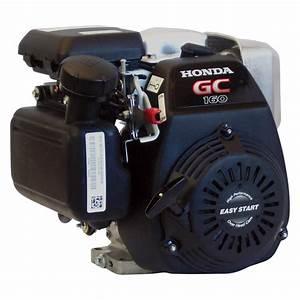 Honda Horizontal Ohc Engine For Generator  U2014 160cc  Gc Series  Tapered 3  4in  X 2 53  64in  Shaft