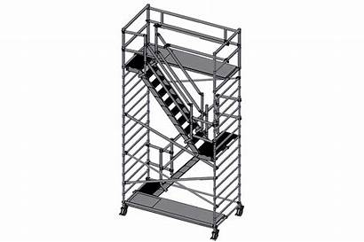 4m Tower Stairs Staircase Scaffold Scaffolding Con