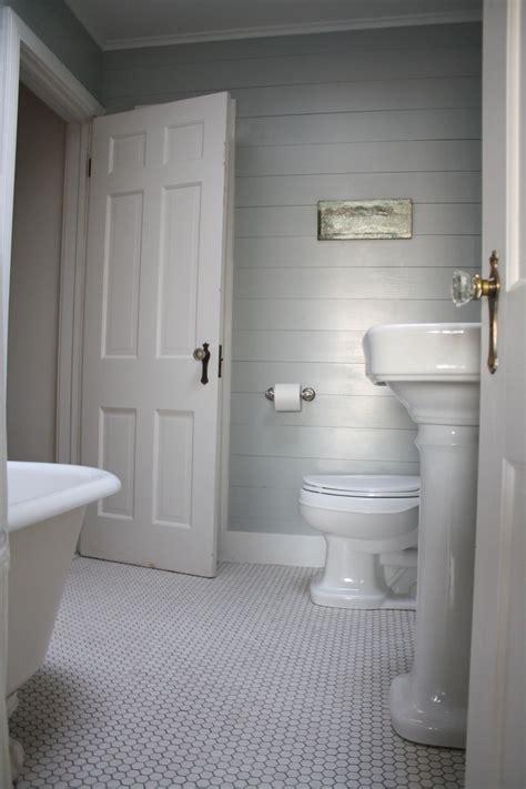 touring  beach cottage shiplap bathroom ship lap walls