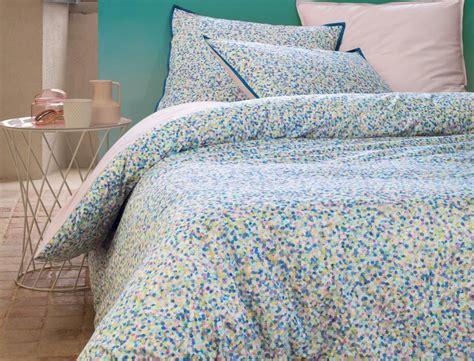 linge de chambre linge de lit confettis linvosges