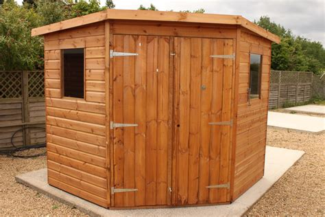 r for shed corner shiplap shed 7 x 7 merit garden products