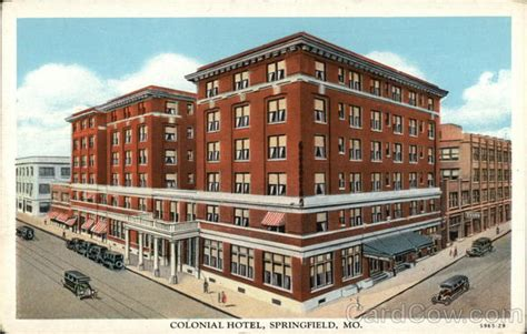 Llighter Inn Springfield Mo by View Of Colonial Hotel Springfield Mo