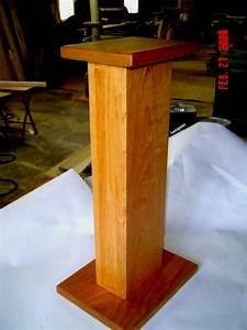How To Build Timber Speaker Stands PDF Woodworking