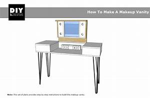 How To Make A Makeup Vanity